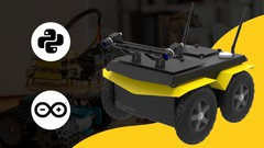 Imágen de Robótica con Python y Arduino: Robot móvil diferencial