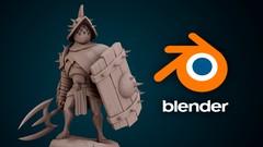 Imágen de Escultura de personajes con Blender 2.91