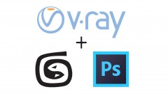 The easiest way to learn and present visualization with 3ds max and V-ray.