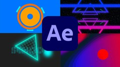 Create Animations with Shapes and Gradients in After Effects - UdemyFreebies.com