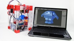The Step by Step course that teaches you how to build a Bobblehead Robot for 3D Printing.