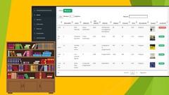Imágen de Sistema Biblioteca PHP, MySQL - Bootstrap, JQuery ,AJAX, JS