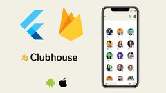 Build an invite only app like Clubhouse using Flutter - UdemyFreebies.com