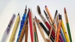 Curso Más de 40 técnicas de Arte y Creatividad. Dibujo y Pintura.