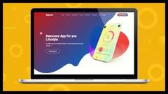 Create Awesome App Landing Page with Wordpress Elementor - UdemyFreebies.com