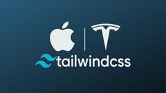 Learn Tailwind CSS, TESLA, APPLE, Cool Portfolio Tailwind UI - UdemyFreebies.com