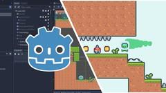 Create a Complete 2D Platformer in the Godot Engine - UdemyFreebies.com
