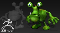 Step by Step workflow for creating game ready 3D toon characters in zBrush.