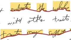 Measurement-Based Handwriting Movement Analysis -- Level II