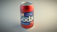 A step by step guide to modeling and texturing a realistic Soda Can in Blender