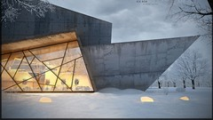 How to make a photo-realistic 3d visualization exteriors for several hours . Learn all the secrets …