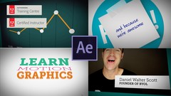 Learn the techniques to start your career as a Motion Graphic artist.