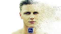 Learn the correct way to create a disintegration effect with Photoshop