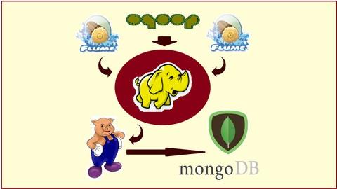 Curso diseña y construye pipelines de datos con Hadoop, MongoDB, Pig, Sqoop y Flume
