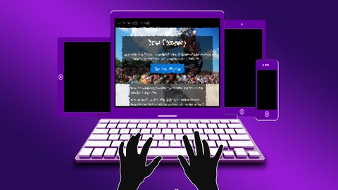 Bootstrap 4 Website Built from scratch in 1 hour