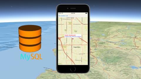 Netcurso-utilize-mysql-data-for-gis-ios-app-in-objective-c
