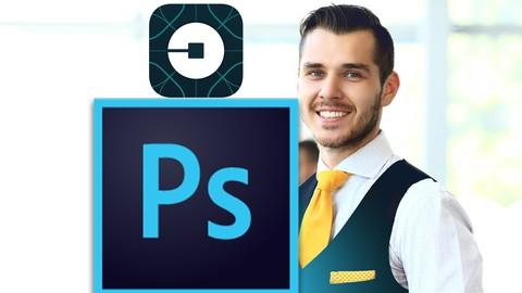 Mobile App Design in Photoshop From Scratch: Design Uber App