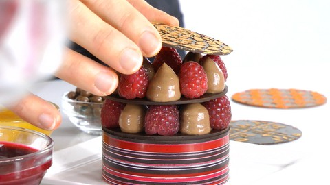 Plated Desserts Made Simple: Elegant Chocolate Towers