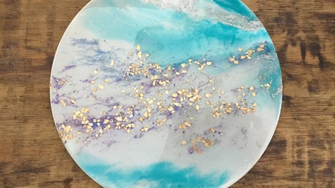 Beginner Resin Art - Acrylic, Ink & Mixed Media Zen Painting