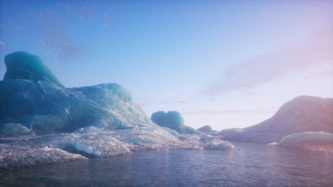 Learn Blender & Octane Render by creating an arctic concept