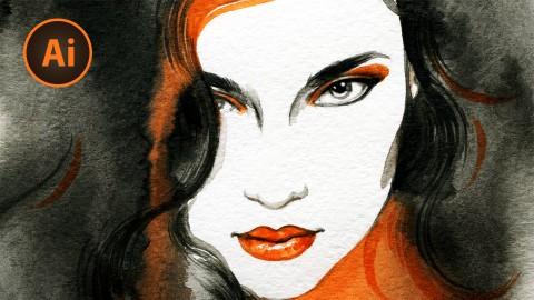 Illustrating with Adobe Illustrator CS3