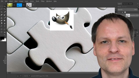 How to make GIMP 2.8 look and act as Photoshop