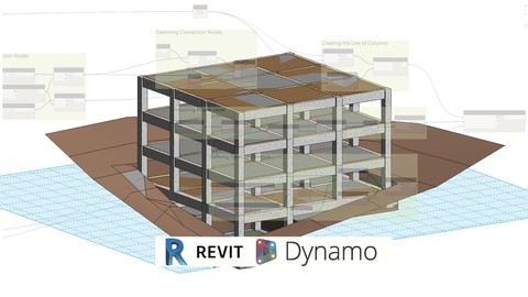 BIM Modeling Structure LOD 300-350 Autodesk Revit and Dynamo