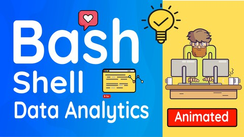Bash Shell Programming for Data Sciences: Animated Coupon