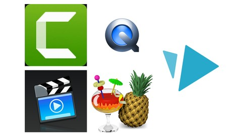 5 in 1: Learn Camtasia & other online course creation tools