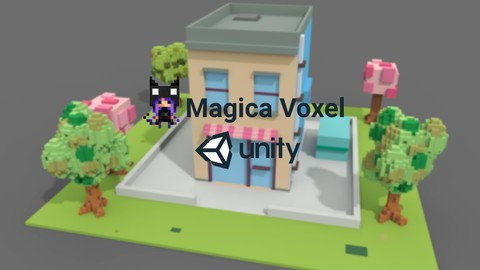 Netcurso-learn-magica-voxel-create-3d-game-models-for-unity3d
