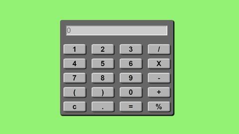 Learn Javascript Web App Development -Build A Calculator App