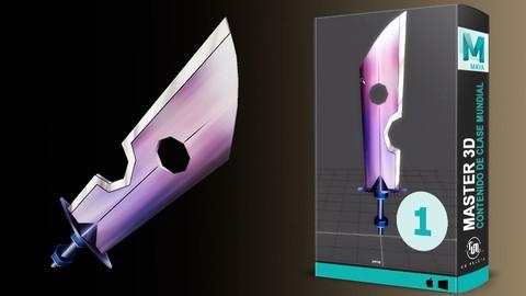 Master 3D para videojuegos, de cero a héroe Vol. 1- Interfaz