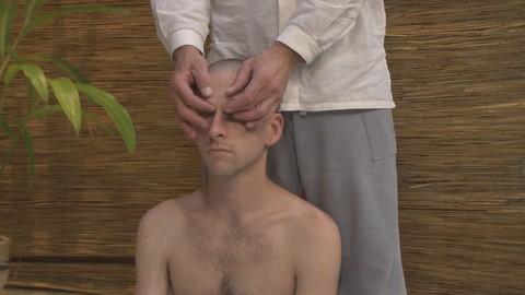 Thai Acupressure Massage Treatment For Two-Sided Headache
