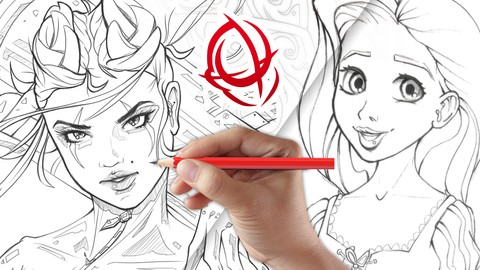 Netcurso-character-art-school-complete-character-drawing