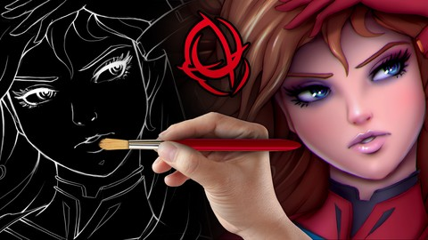 Character Art School: Complete Coloring and Painting Course