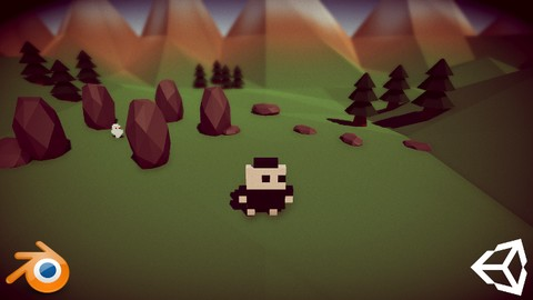 Create a Low Poly Game using Unity, Blender and MagicaVoxel