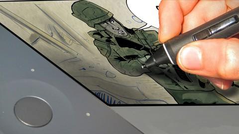 Netcurso - le-cours-complet-creez-vos-mangas-comics-bds-dessins