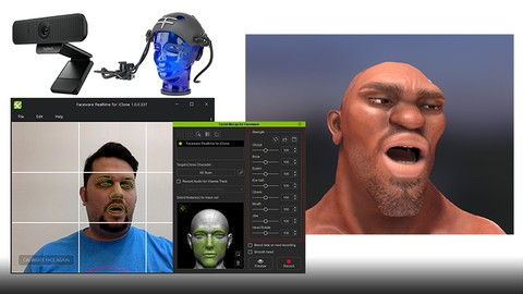 Generate 3D Facial Animations: Motion Capture for Everyone