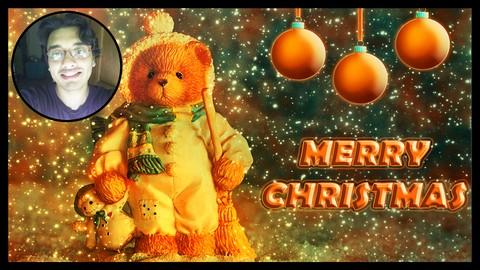 Photoshop Manipulation & Animation Project: Christmas Effect Coupon