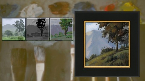 Changing colors - A Photo to Oil Painting Workshop