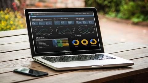 Análisis de datos y paneles usando Google Data Studio
