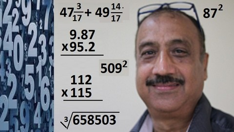 Faster than Calculator, Speed Math Techniques  & Mental Math