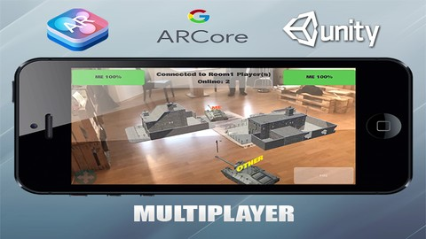 Kompletter ARCore & ARKit Spieleentwickler Augmented Reality