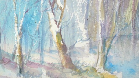 Relax with the mellow Watercolor Workshop videos