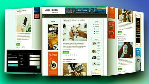 Bootstrap Website Design From Scratch