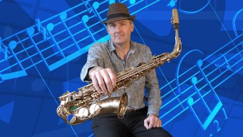 Learn Alto Saxophone-Complete beginner course - Resonance School of Music