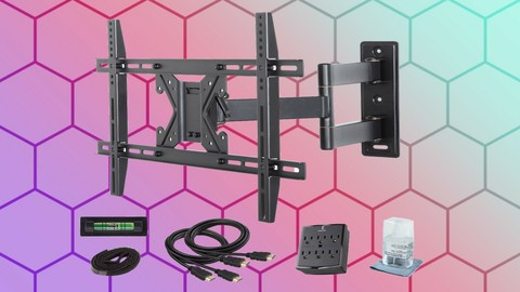 Netcurso-how-to-hang-a-tv-mount-on-the-wall-master-class-easy-way