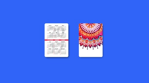 Learn Indesign Basics by Making A Pocket Calendar