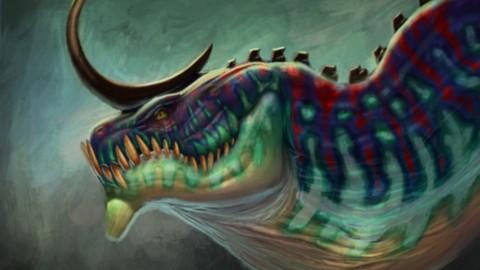 Digital Painting Series Ep0. Dragon Bust