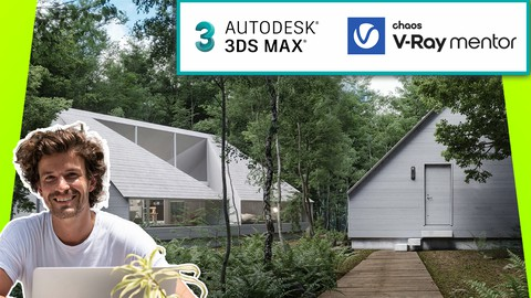 Architectural Exterior Rendering Masterclass 3ds Max + V-Ray
